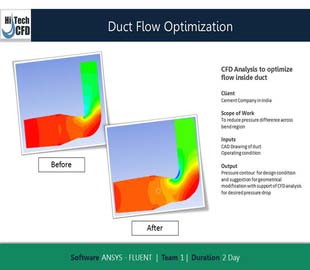 Conduit optimisation des flux