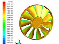Analisi Anello Ventilatore CFD