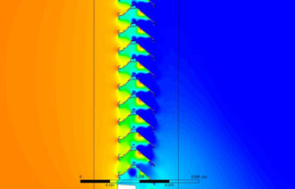 Pressure Drop Analysis of Flow through Louver System